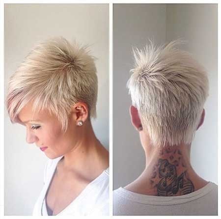 Short-Pixie-Hairstyle-with-Long-Spikes-Trend Long Pixie Hairstyles