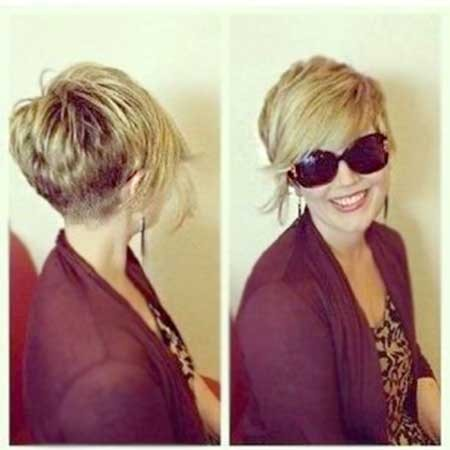 Short-Side-Swept-Bob-Pixie-Style-with-Long-Bangs Long Pixie Hairstyles