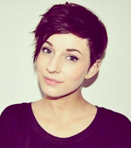 Short-and-Cute-Spiky-Pixie-Hairstyle-for-Girls Long Pixie Hairstyles