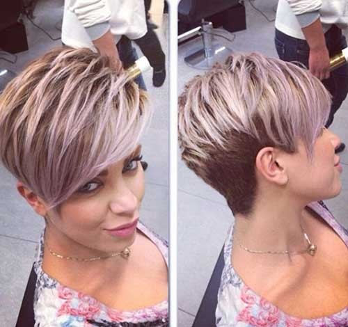 Side-Swept-Pixie-Hair Best Short Pixie Cuts