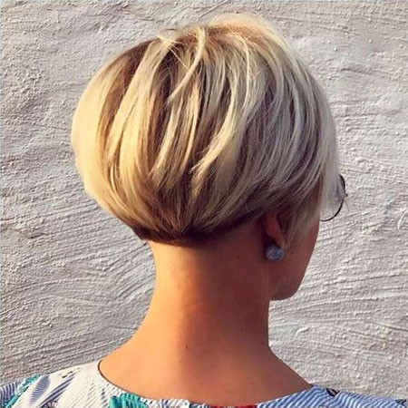 Stacked-Bob Best Womens Short Haircuts