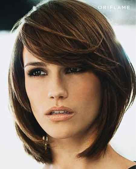 Straight-Delightful-Layered-Bob Layered Bob Haircuts