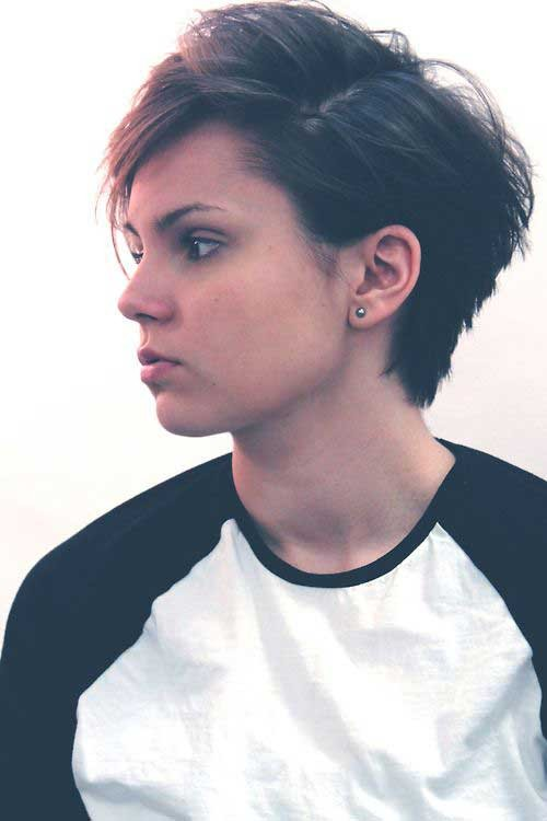 Trendy-Short-Pixie-Hairstyle Best Short Pixie Cuts