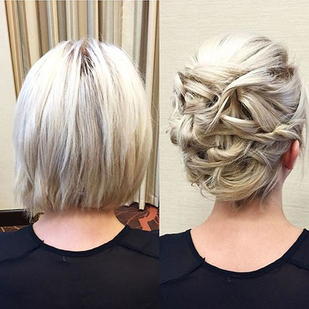 Updo-for-Short-Hairstyles Nice Updos for Short Hair
