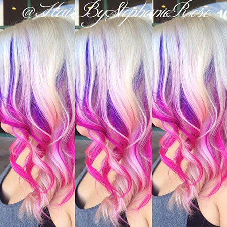 10-Blonde-and-Pink-Hair-608 Blonde And Pink Ombre Hair