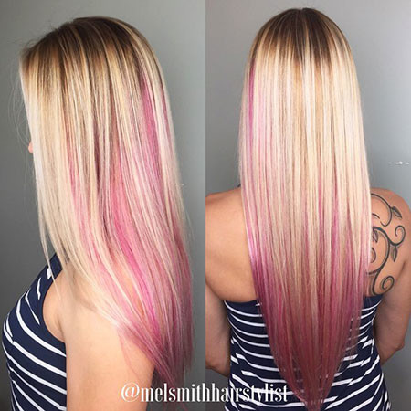 19-Blonde-and-Pink-Ombre-Hair-617 Blonde And Pink Ombre Hair
