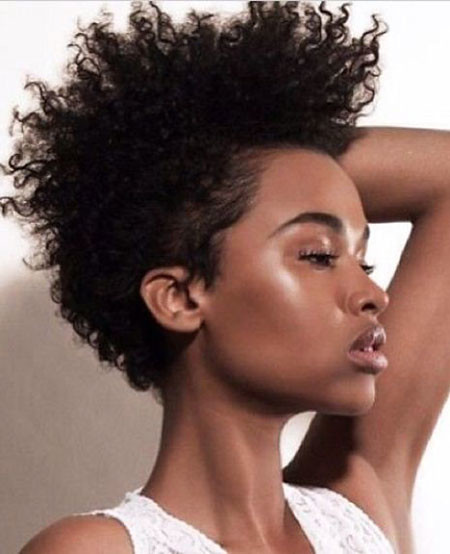 19-Tapered-Cut-for-Natural-Hair-411 Short Haircuts for Black Women