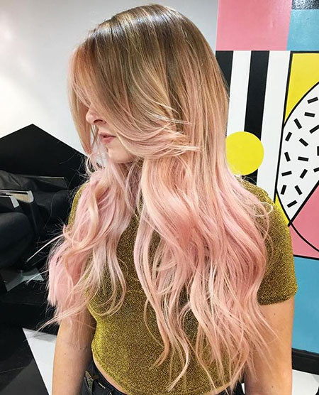21-Pink-and-Blonde-Ombre-619 Blonde And Pink Ombre Hair
