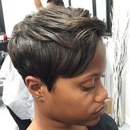 26-Ash-Brown-Hair-Black-Women-418 Short Haircuts for Black Women
