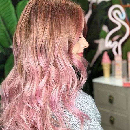 26-Wella-Color-Fresh-Create-Nudist-Pink-624 Blonde And Pink Ombre Hair