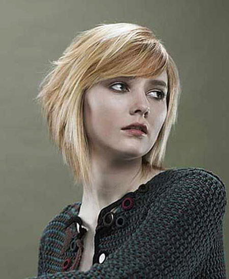 9-Asymmetrical-Haircuts-323 Short Trendy Hairstyles