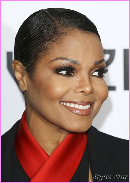 9-Janet-Jackson-Short-Hair-401 Short Haircuts for Black Women
