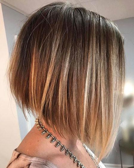 Blonde-Bob Short Haircuts for Straight Hair