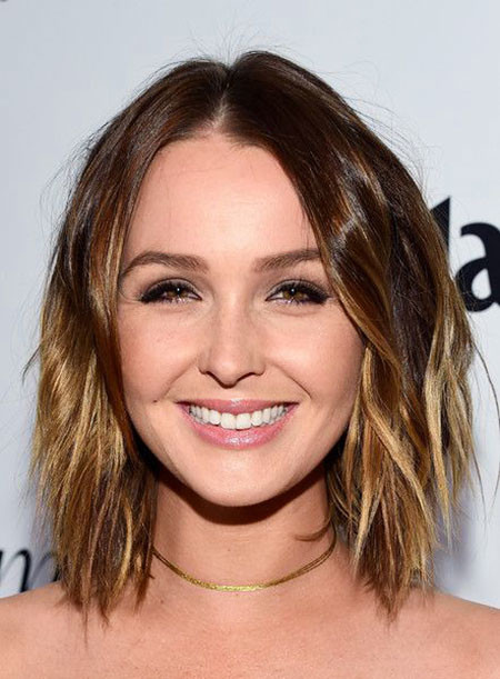 Camilla-Luddington Amazing Short Ombre Hairstyles