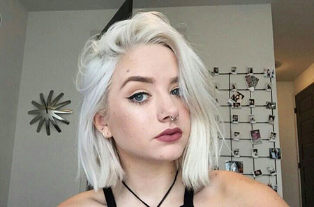 Best Short White Blonde Hair