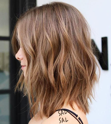 Long-Bob-Haircut Best Layered Bob Hairstyles