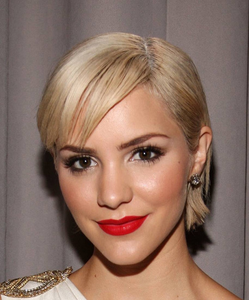 New-Short-Blonde-Haircut Celebrity Short Haircuts