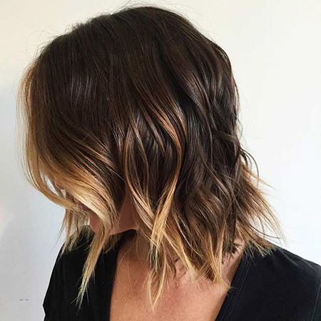 Peek-A-Boo-Highlights Amazing Short Ombre Hairstyles