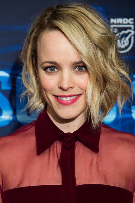 Short-Hairstyles-for-Wavy-Hair-13 Short Hairstyles for Wavy Hair