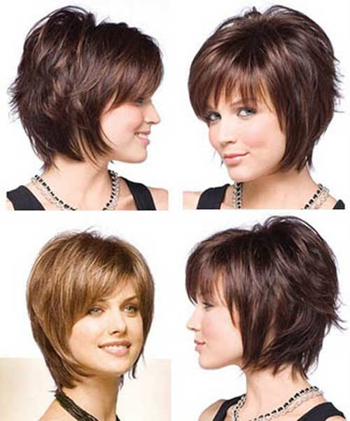 Very-short-layered-bob Nice Short Bob Hairstyles