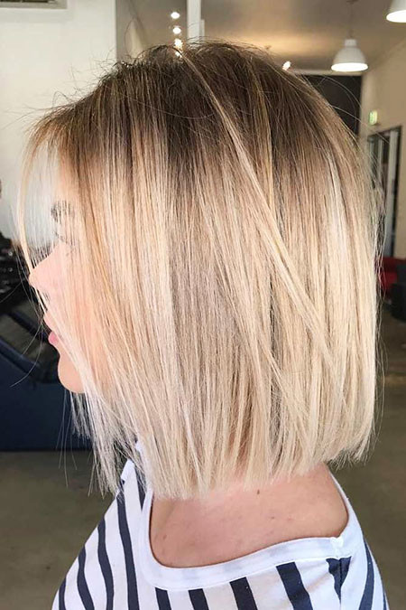 14-Trendy-Bob-Hairtyles-2018-524 Best Bob Hairstyles for Women 2019