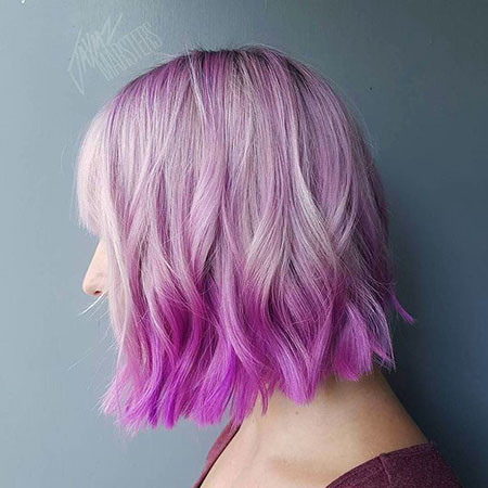 15-Reverse-Ombre-Hair-Purple-490 Short Ombre Hairstyles