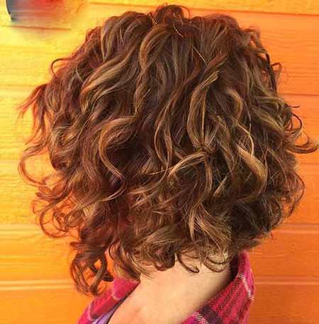 18-Balayage-on-Curly-Hair-463 Short Curly Hairstyles for Women