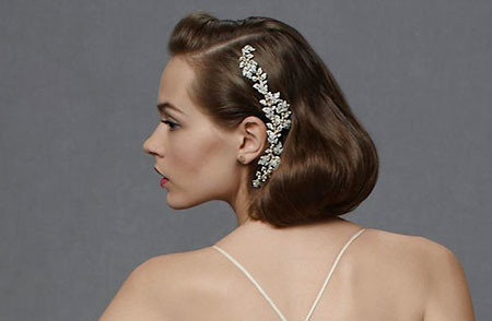 18-Bridal-Hairtyles-for-Short-Hair-608 Bridal Hairstyles for Short Haircut