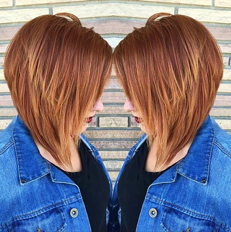 18-Inverted-Bob-Haircut-528 Best Bob Hairstyles for Women 2019