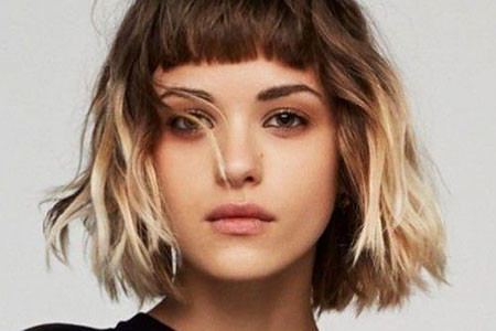 20-Short-Hair-with-Bangs-495 Short Ombre Hairstyles