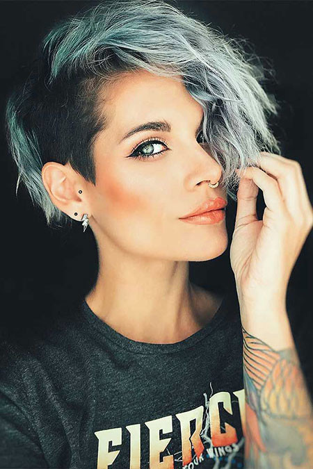 26-Best-Undercuts-for-Women-576 Short Hairstyles for Women