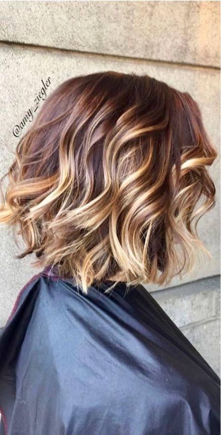 31-Summer-Hair-Color-Short-Hair-581 Short Hairstyles for Women
