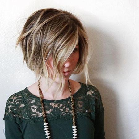 38-Short-Hair-Balayage-Bob-588 Short Hairstyles for Women