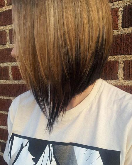 8-Medium-Bob-Cut-2018-483 Short Ombre Hairstyles