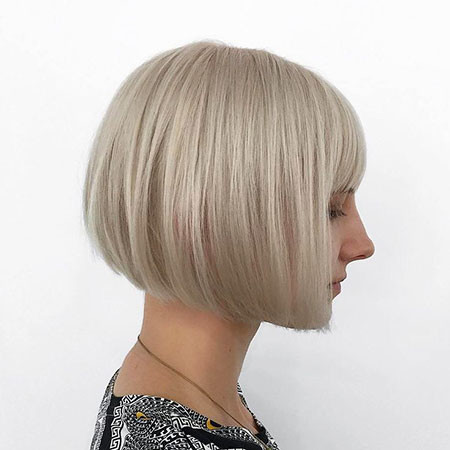 9-Chin-Length-Bob-with-Bangs-622 Short Blonde Hair with Bangs