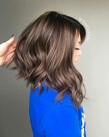 9-Long-Bob-Cut-for-Thick-Hair-519 Best Bob Hairstyles for Women 2019