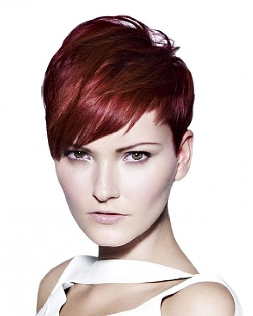 Bangs-hairstyle-ideas-for-2012 Latest Short Hairstyles Trends 2018 – 2019