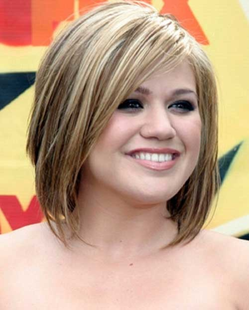 Chubby-Face-with-Short-Hair Short Haircuts For Chubby Faces