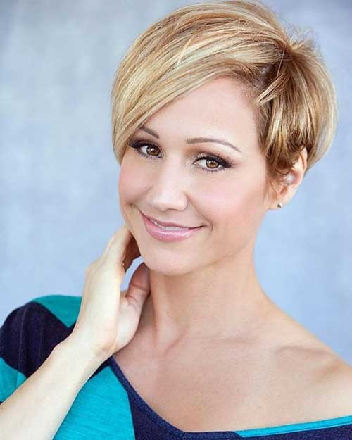 Classy-Long-Pixie Most Preferred Short Haircuts for Classy Ladies