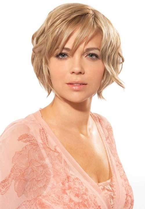 Long-Layered-Pixie-Haircut-for-Round-Chubby-Face Short Haircuts For Chubby Faces