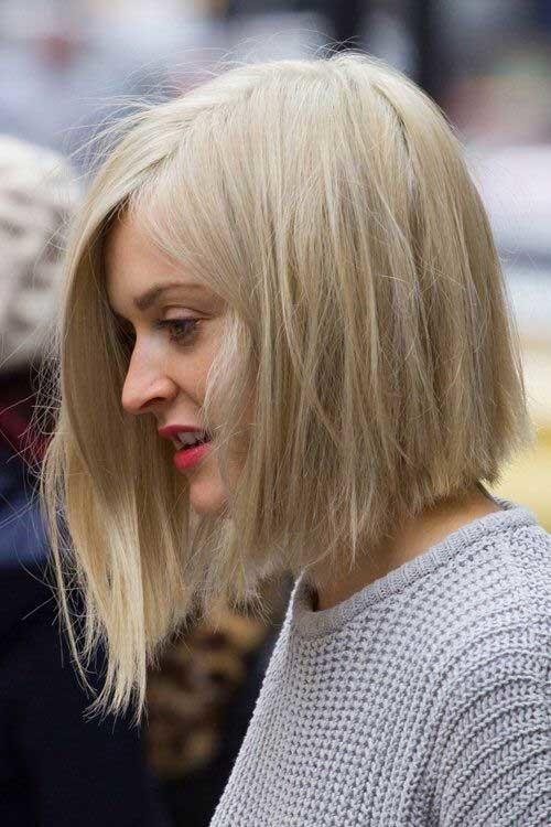 Medium-Short-Bob-Haircut Short Medium Length Haircuts