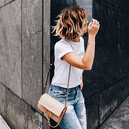 Ombre-Hair Best Short Hairstyles for Girls 2019