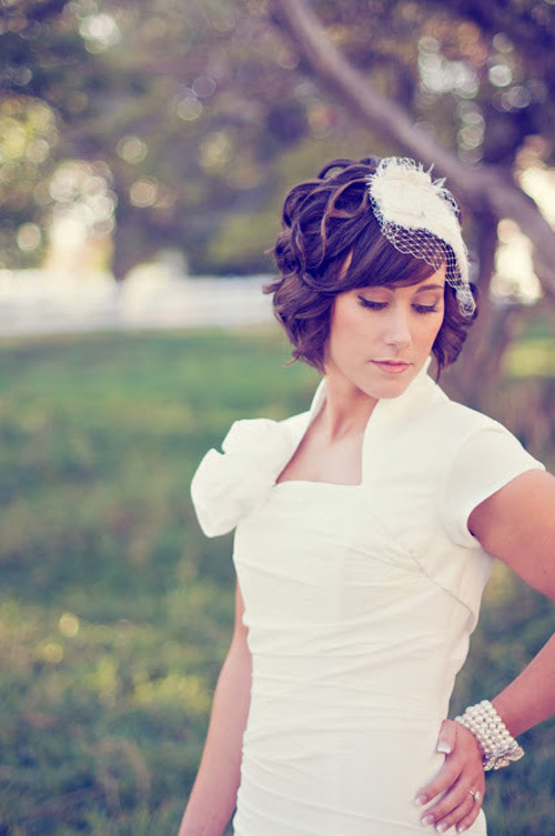 Pictures-wedding-hairstyles-short-hair Best Wedding Hairstyles for Short Hair