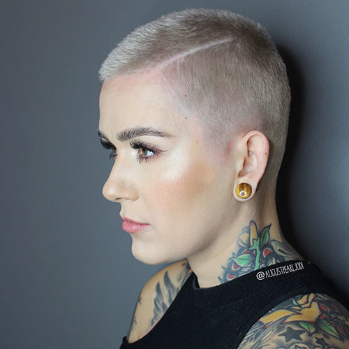 Very-Short-Hair Best Short Hairstyles for Girls 2019