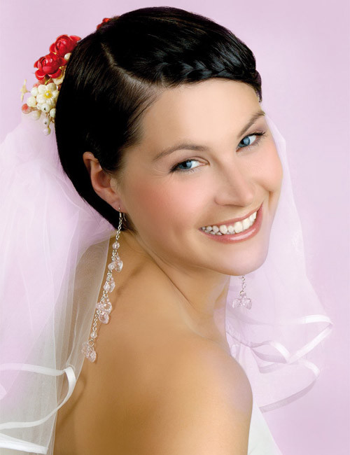 Wedding-hairstyles-for-very-short-hair Best Wedding Hairstyles for Short Hair