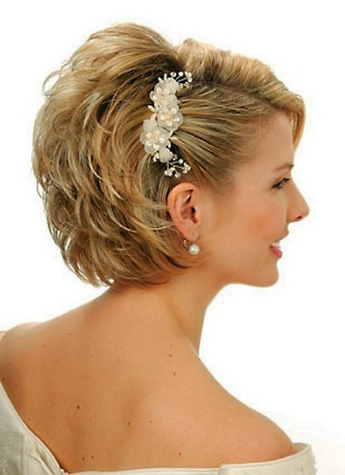 Wedding-hairstyles-for-women-with-short-hair Best Wedding Hairstyles for Short Hair