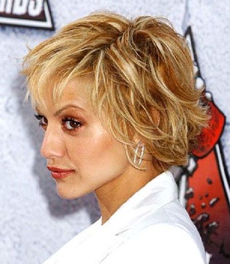 12-Brittany-Murphy-751 Short Messy Haircuts