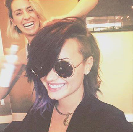 14-Demi-Lovato-Hair-Cut-753 Short Messy Haircuts