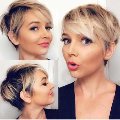 2018-Layered-Short-Fine-Hair Latest Short Hairstyles with Fine Hair