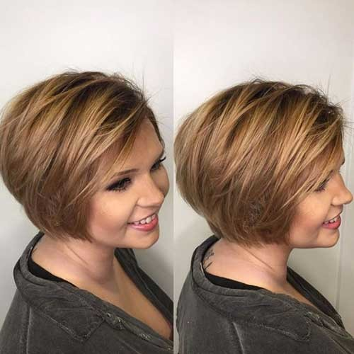Bob-Haircut-Style-for-Thick-Hair Best Short Bob Haircuts for Women
